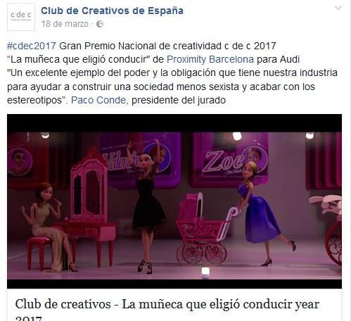 Premio Nacional de Creatividad
